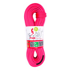 Fixe Dominator SPD Rope 9,2mm x 70m neon pink/white